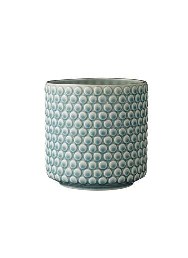 Warm Design Porselen Saksılık Mavi